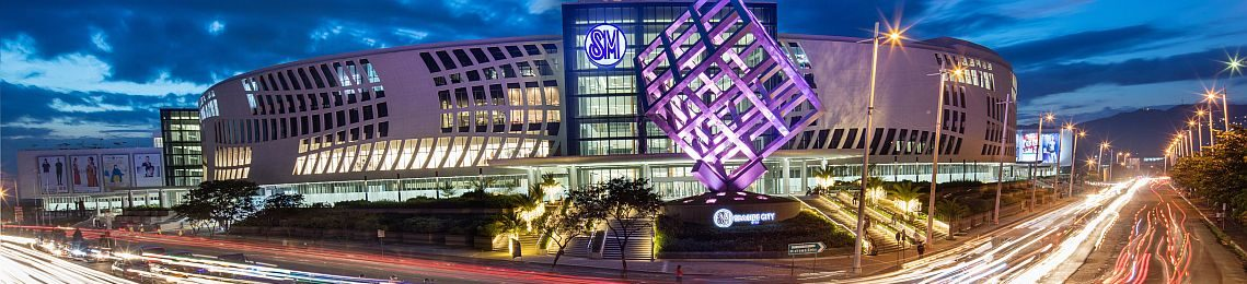 The New SM Seaside City In Cebu with the fourth largest mall in the world!