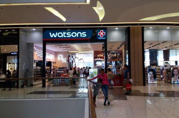 Watsons SM Seaside Cebu Philippines