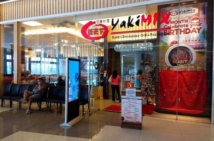 Yaki Mix Restaurant SM Seaside City Cebu Philippines