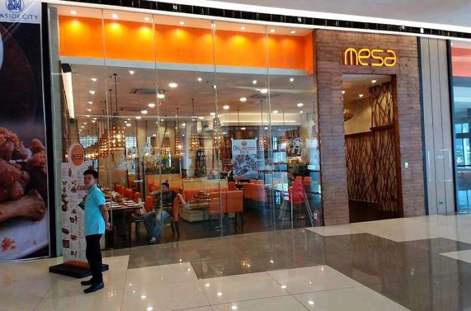 Mesa Restaurant SM Seaside City Cebu Philippines