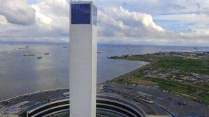 Viewing tower sm seaside mall cebu
